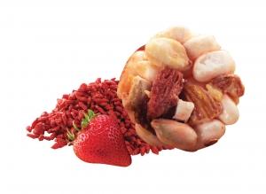 Pop Rice – Strawberry & Gojiberry ข้าวอบกรอบรสสตรอว์เบอร์รี่และโกจิเบอร์รี่